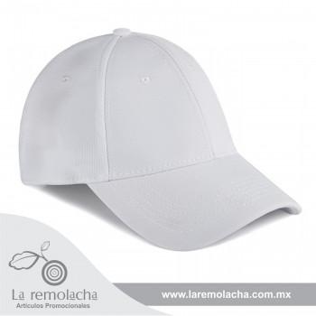 Gorra Flex Blanca Cerrada
