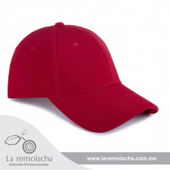 Gorra Flex Rojo Cerrada