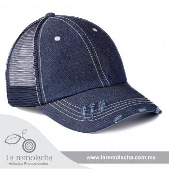 Gorra de Mezclilla Azul