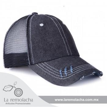 Gorra de Mezclilla Negro