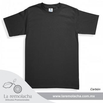 Playera Cuello Redondo Carbon