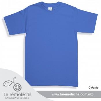 Playera Azul Celeste
