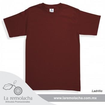 Playera Rojo Ladrillo