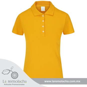 Playera Polo Dama Mango