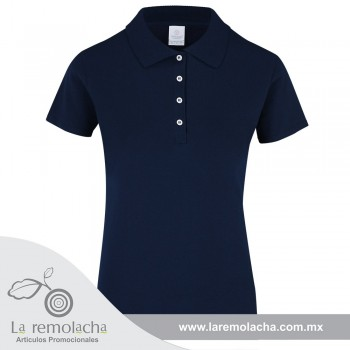 Playera Polo Dama Marino