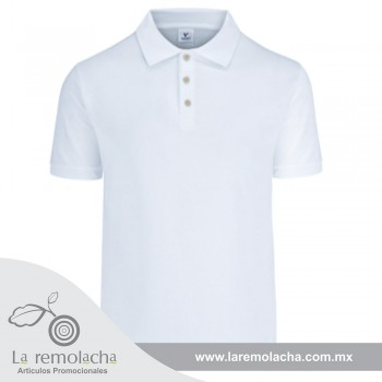 Playera Polo Caballero Blanco
