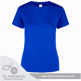 Playera Azul Royal Dama
