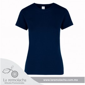 Playera Azul Marino Dama