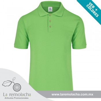 Playera Polo Verde LIma