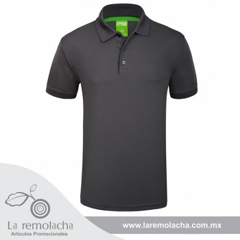 Playera Polo Dryfit Carbón
