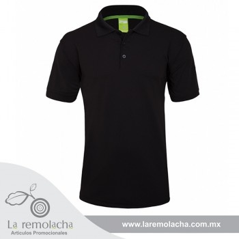 Playera Polo Dryfit Negro