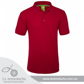 Playera Polo Dryfit Rojo