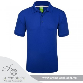 Playera Polo Dryfit Azul Royal
