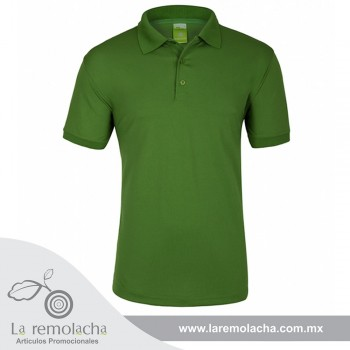 Playera Polo Dryfit Verde