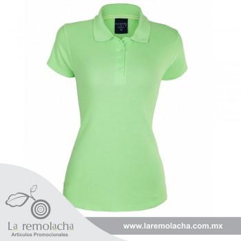 Playera Polo verde para Dama