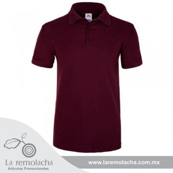 Playera Polo Marron para caballero