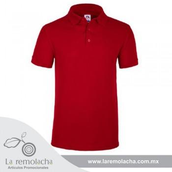 Playera Polo Rojo para caballero