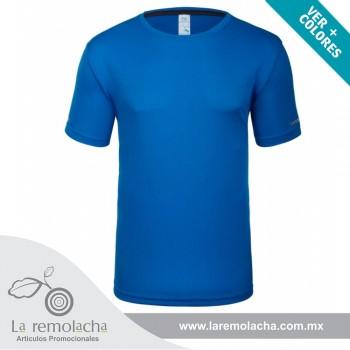 Playera Dryfit Azul
