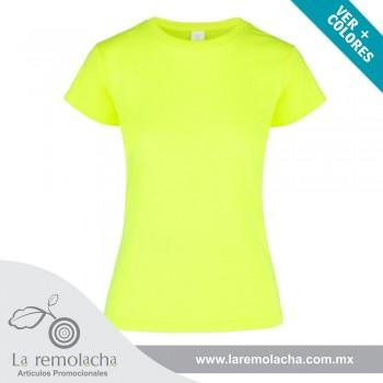 Playera Amarillo Neon