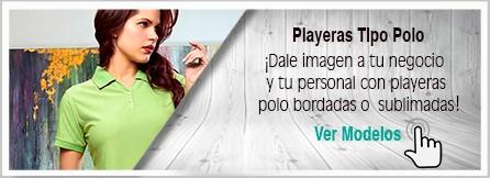 Playeras Polo Bordadas